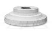 "1.5"" Round TransUltra™ Paper Tabs"